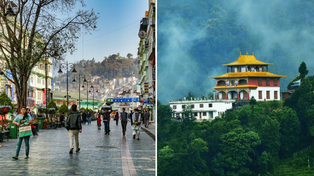 GANGTOK - top 10 hills station of India
