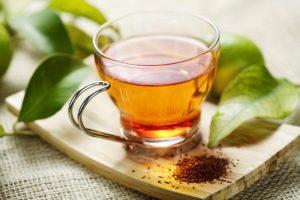 Drink coffee or herbal tea/green tea