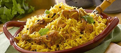 Mughlai biryani - Top 5 Indian Dishes